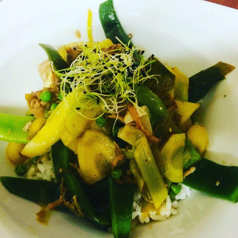 restaurant Bistrot La-Haut Montmartre Byriani de Poulet un plat indien apprécié des empereurs Moghol