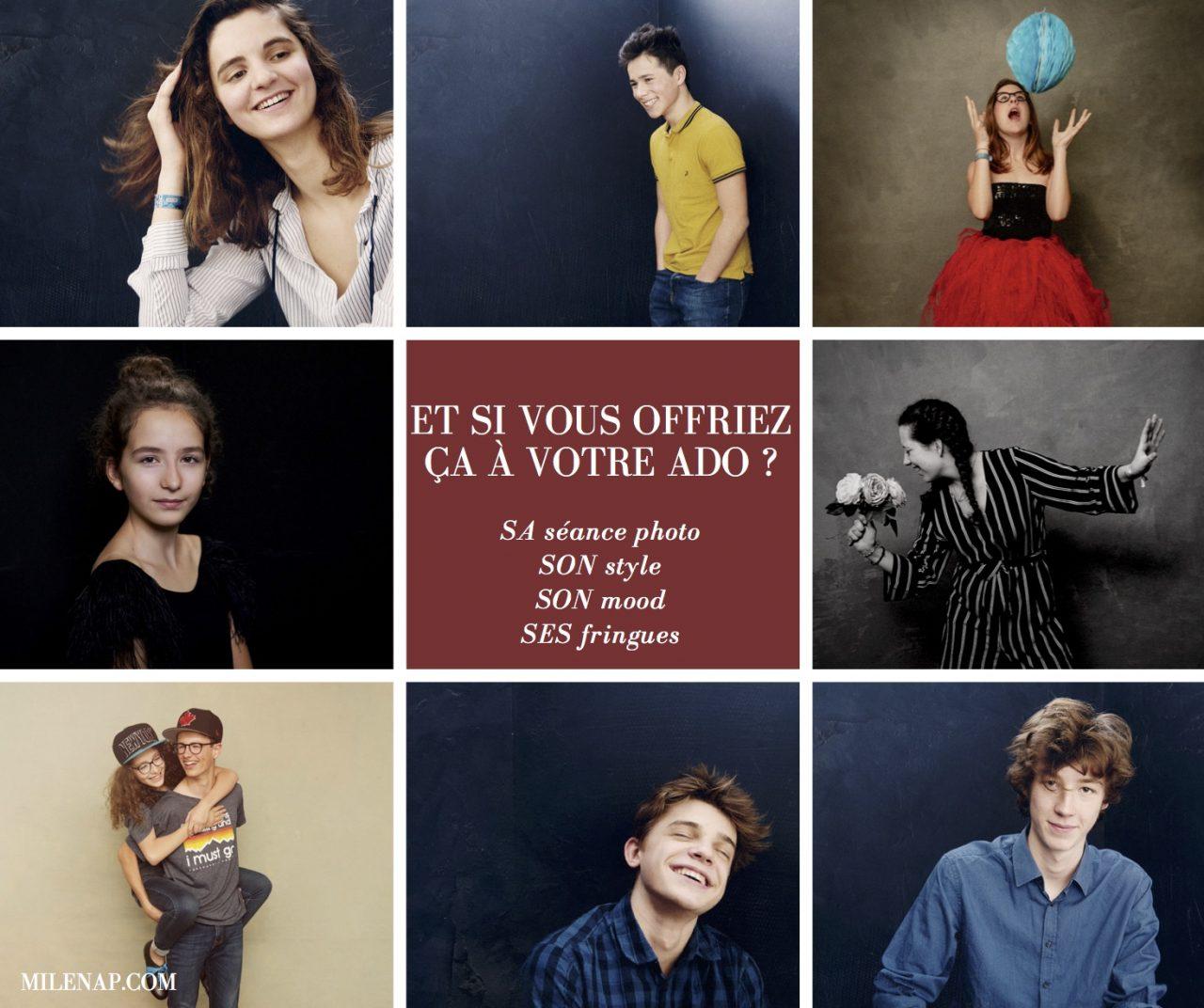 Photographe, portrait, Paris, Paris 18, 75018, montmartre, ado, adolescent, cadeau, séance photo, studio photo
