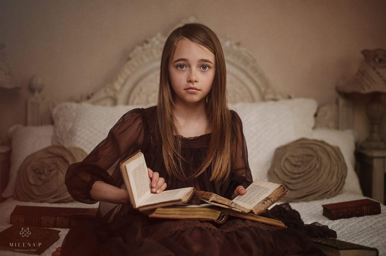 portrait d'enfant, enfant, photographe, adolescent, portraitiste, Paris 18, Montmartre
