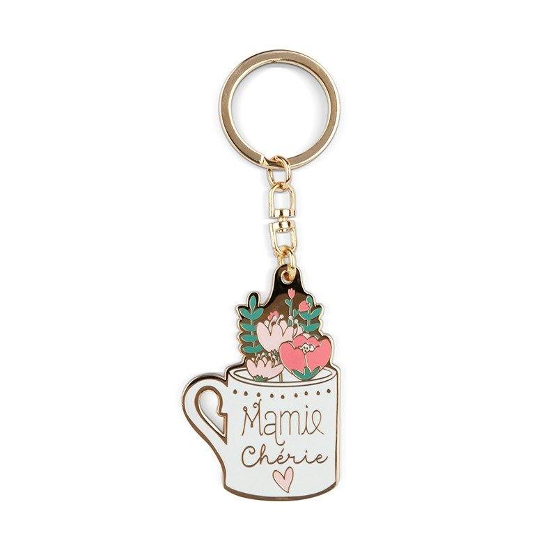 Sélection cadeau Fête des Grands-Mères - Madeleine Décoration - Porte-clefs Mamie