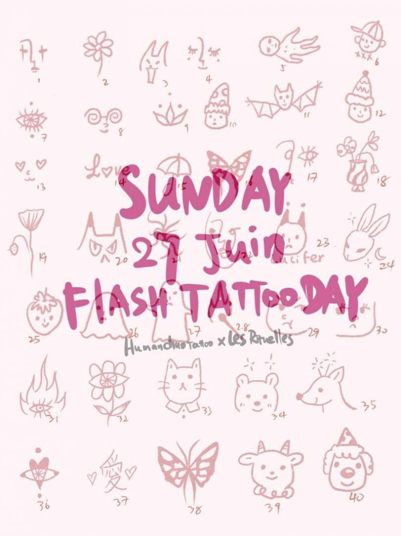 Flash Tatto Day Les Rituelles Human Chuo 27 Juin 2021
