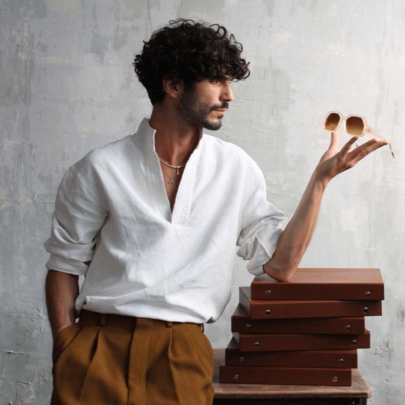 Hermes Pontet créateur lunettes